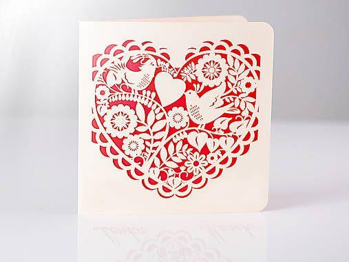 ThreePoint / Ľudové srdce - svadobné oznámenia