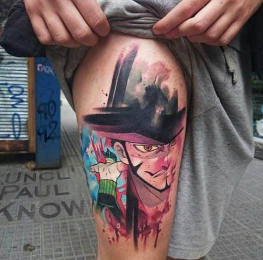 Anime Tattoos Anime Tattoos One Piece Tattoos Pieces Tattoo