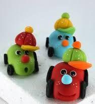 Resultado de imagen para souvenirs cars porcelana fria