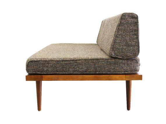 Unsere Erstaunliche, Handgefertigten Mid Century Modern Stil Liege/Sofa Ist  Perfekt Für Ein Kleines Haus, Wohnung, Höhle Oder Im Büro.