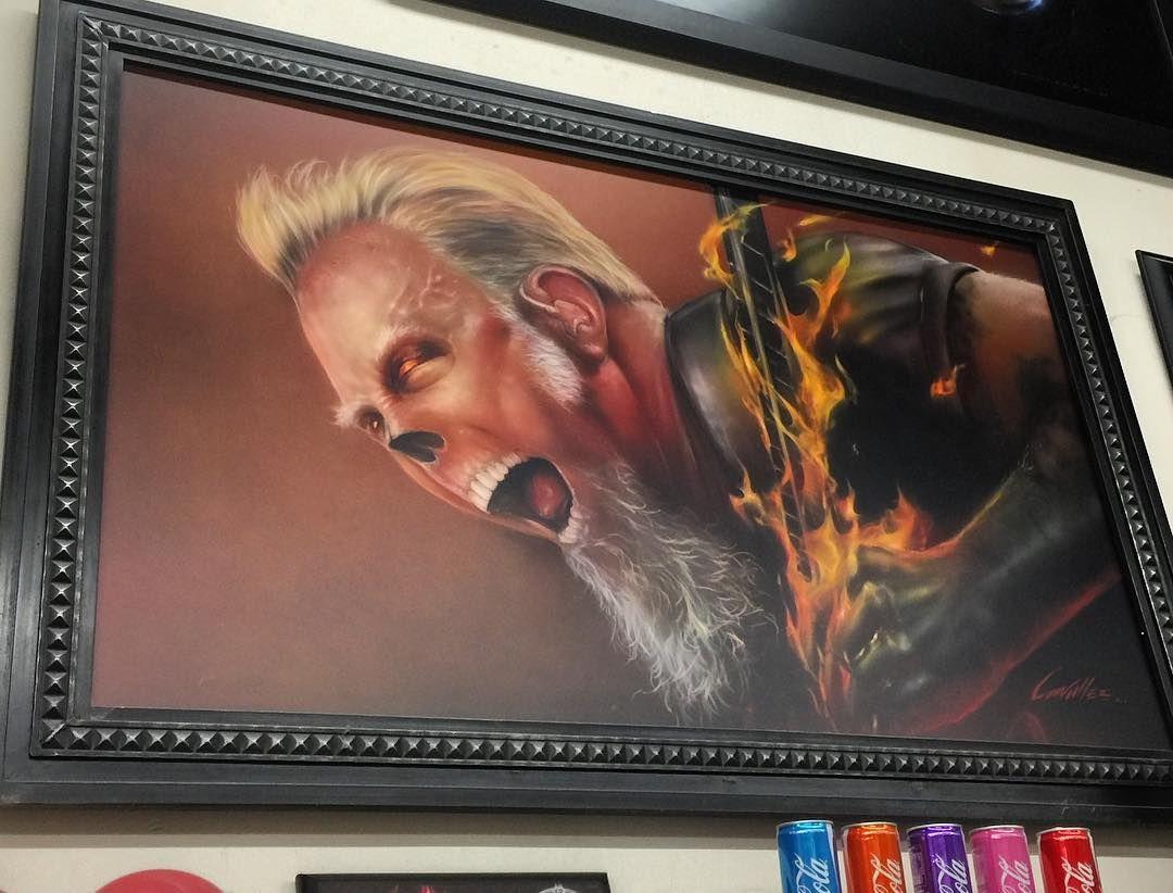 James Hetfield Skelebrity. Another cool one in my collection #myidea #mydesigns #art #cool #killerpaint #skelebrities #jamehetfield #iknowwhatcoolis by killerpaint