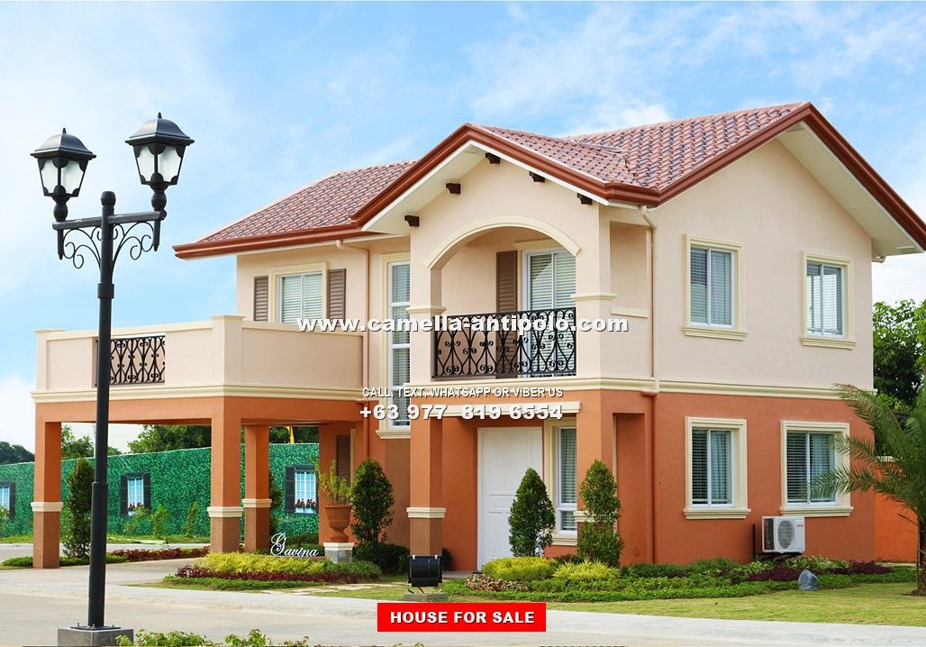 Camella Antipolo Gavina House And Lot For Sale In Antipolo Village House Design 2 Storey House Design House Arch Design