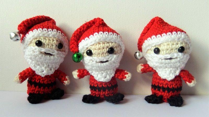 Tiny Santa, free crochet pattern - Peggy Sew | 450x800