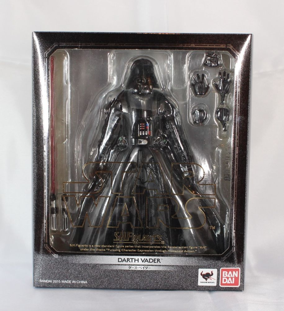 Japan Bandai S.h.Figuarts Star Wars Return of the Jedi DARTH VADER action figure