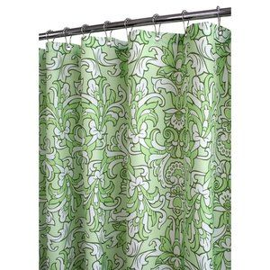 Watershed Rococo Scroll Shower Curtain In Green WM 3495 Not Enough Color But I Think