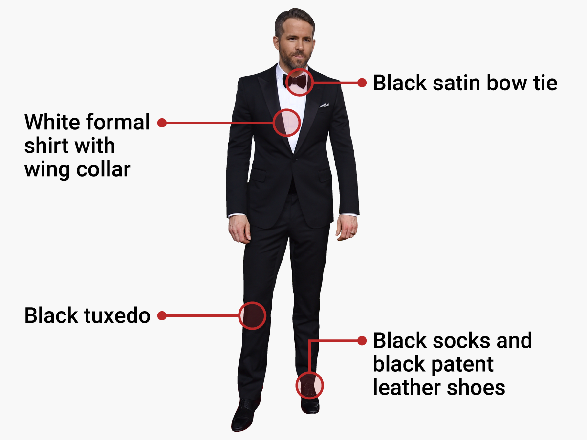 This is the only correct way for men to dress for a black tie event
