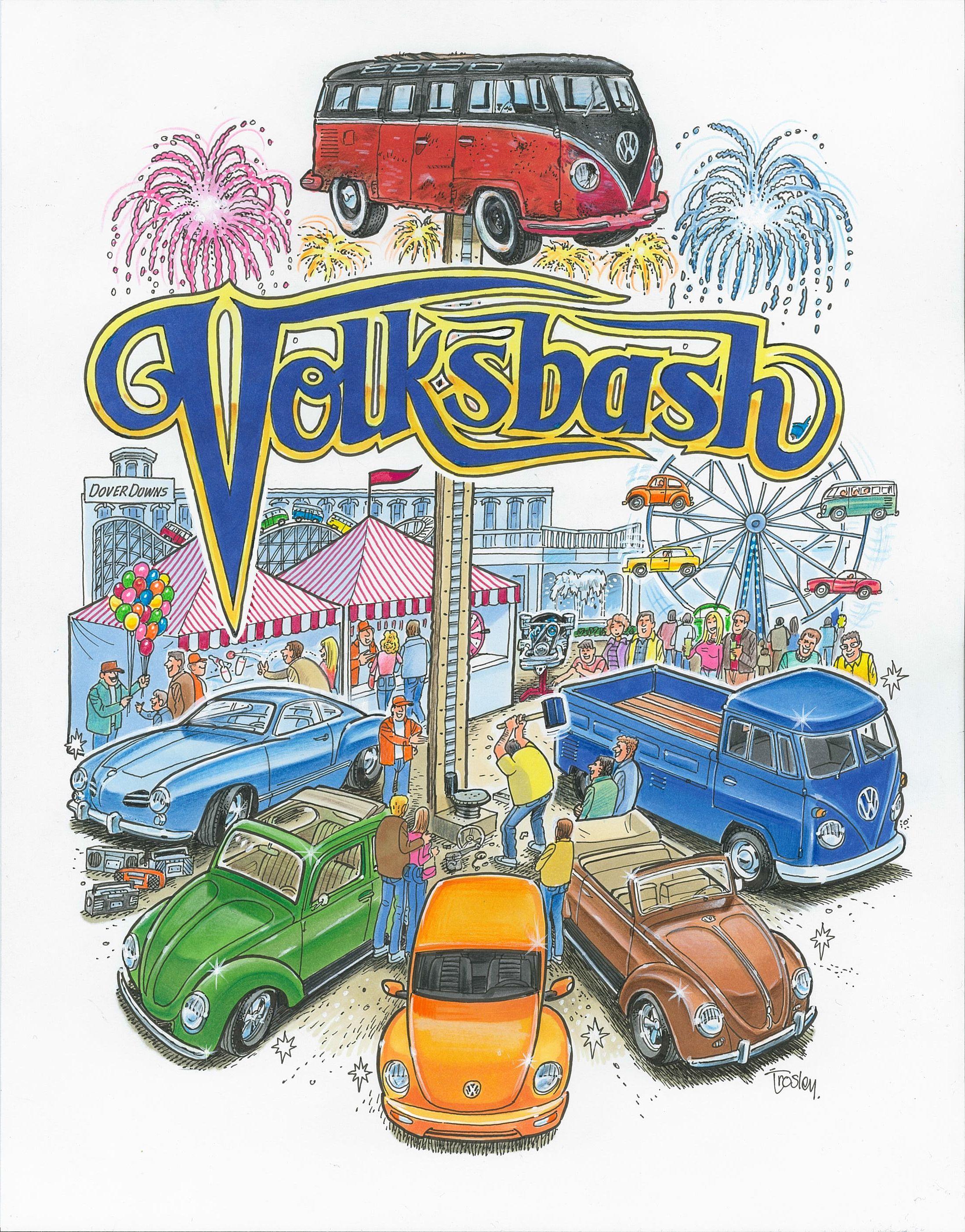 VOLKSBASH! September 7th, 2014 Vw aircooled, Vw art