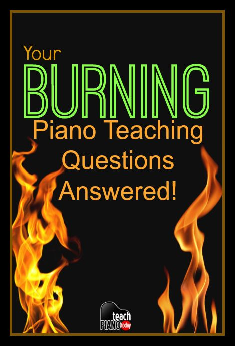 The 10 most commonly asked piano teaching questions answered! | teachpianotoday.com #piano #pianoteaching