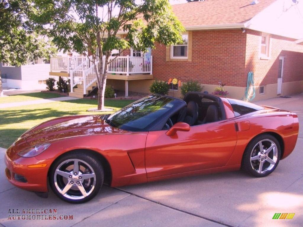 2005 Chevrolet Corvette Coupe In Daytona Sunset Orange Metallic 112541 All American Automobiles Buy A Chevrolet Corvette 2005 Chevrolet Corvette Corvette