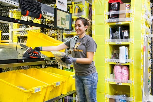 Amazon Fulfillment Center In Dallas Creates Hundreds Of Full Time