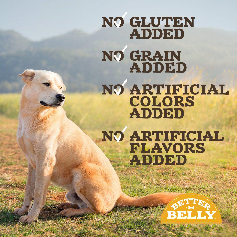 Better Belly Digestable Chicken Liver Rawhide Dog Bones Ad