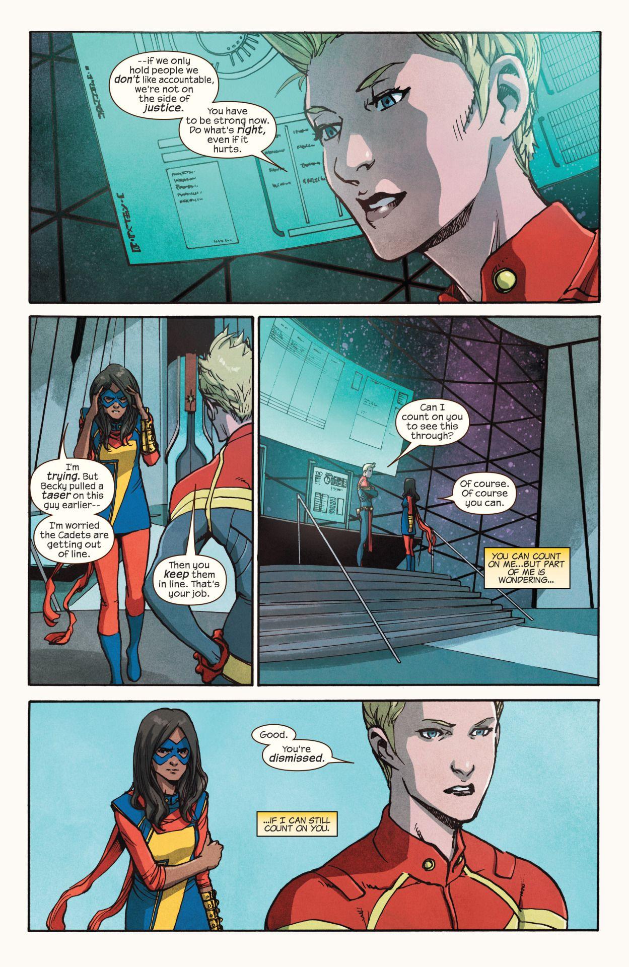 Ms. Marvel #9  ( July 2016 ) Written by G. Willow Wilson