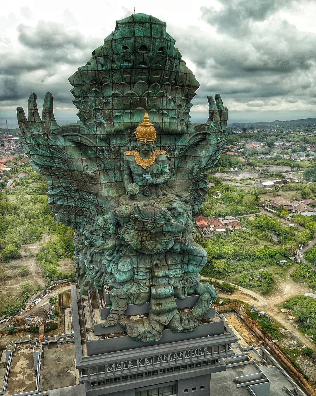 Garuda Wisnu Kencana Bali Indonesia The Tallest Free Standing