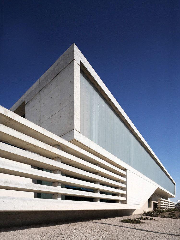Gallery Of Co Op Bank In Kiti Amsa 9 Architecture Minimalist Architecture Facade Design