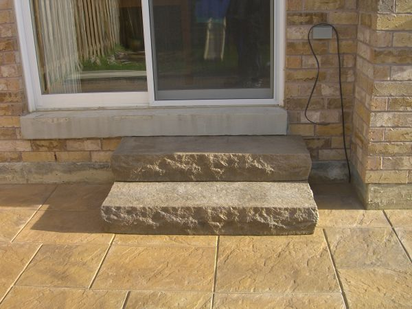paver stairs how to build - ez pee z | step right in! | pinterest ... - Patio Step Ideas