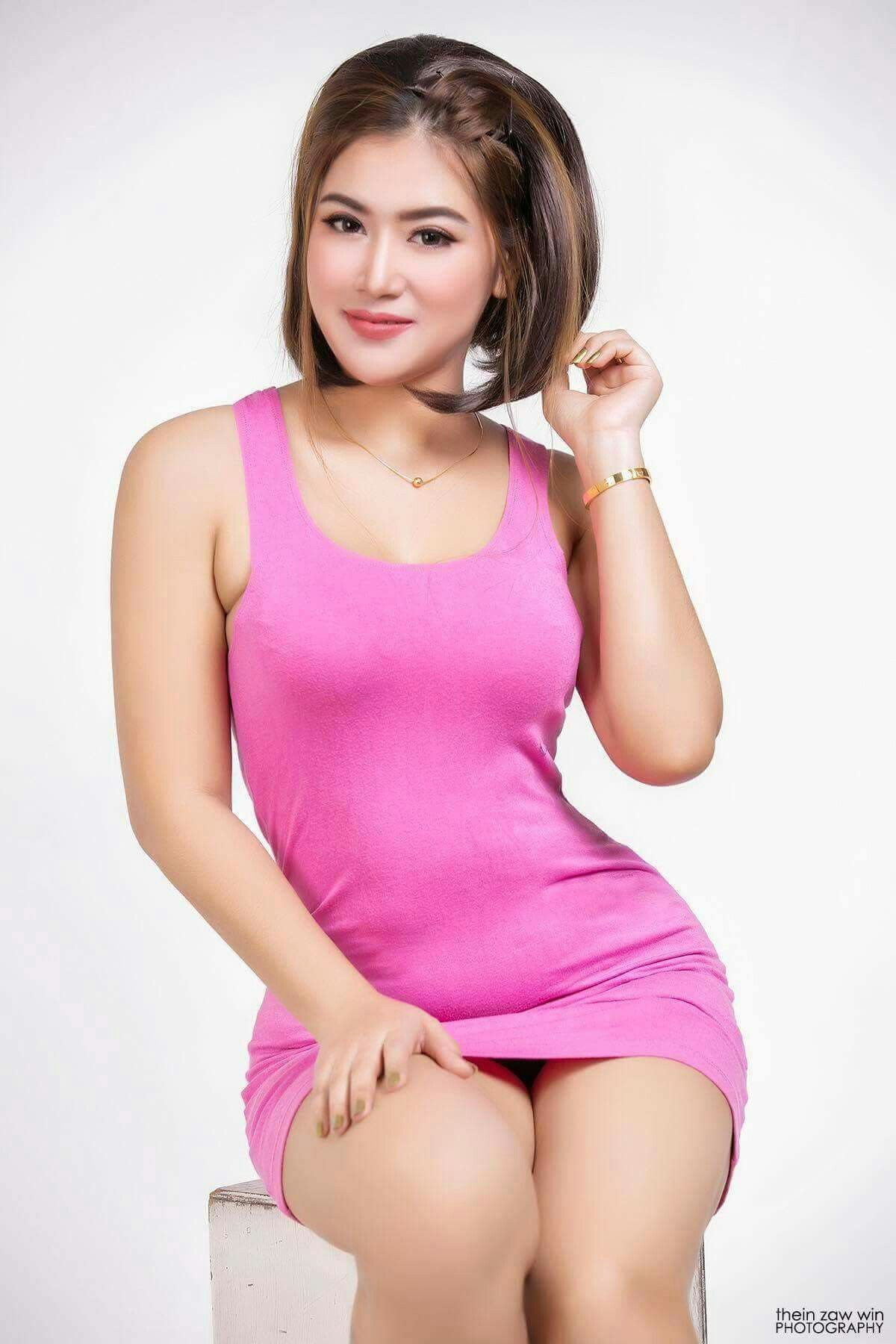 Middle myanmar girl naked