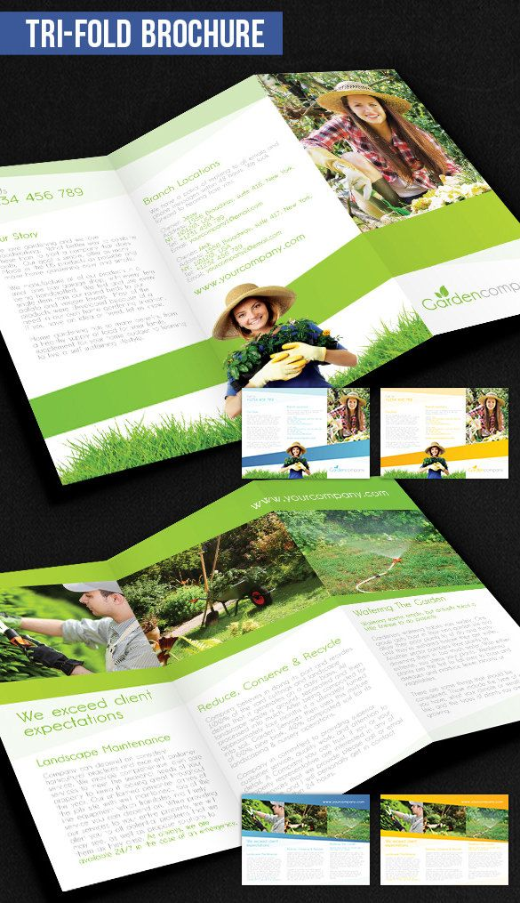 Tri Fold Brochure Template 43 Free Word Pdf Psd Eps Indesign