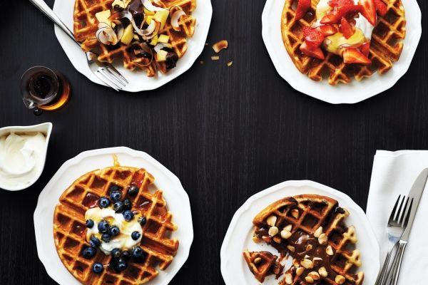 Buttermilk Waffles Buttermilk Waffles Decadent Breakfasts Food Recipes