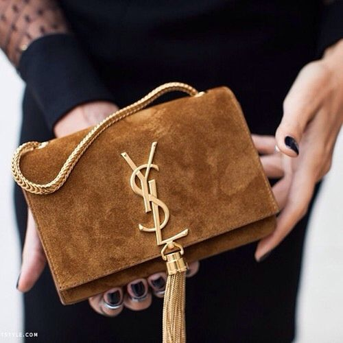 c450b5ca66d YSL clutch #gold #tassel | Bags of style in 2019 | Bags, Bag ...