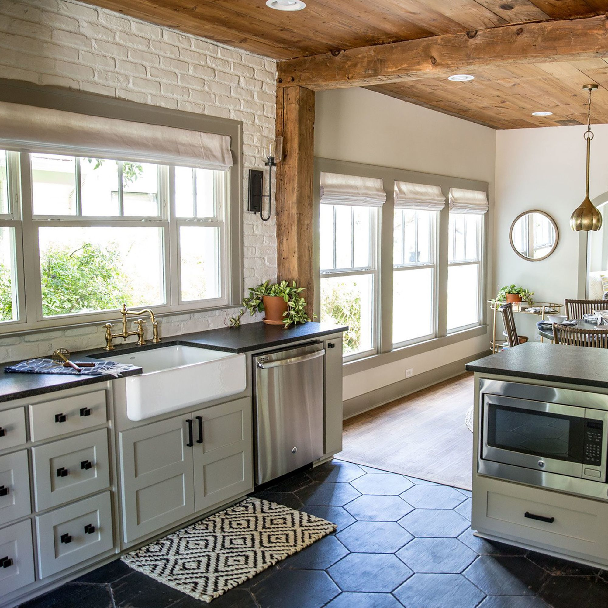 Koni Brick Old Chicago Fixer Upper Kitchen Kitchen Remodel