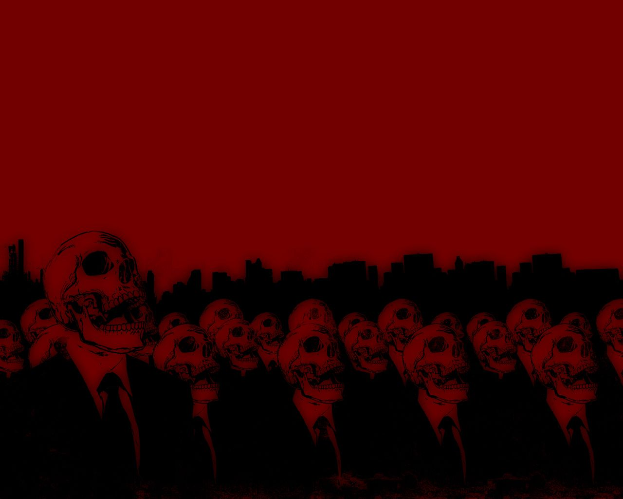Red Skull Android Central 1280 1024 Red And Black Skull Wallpapers