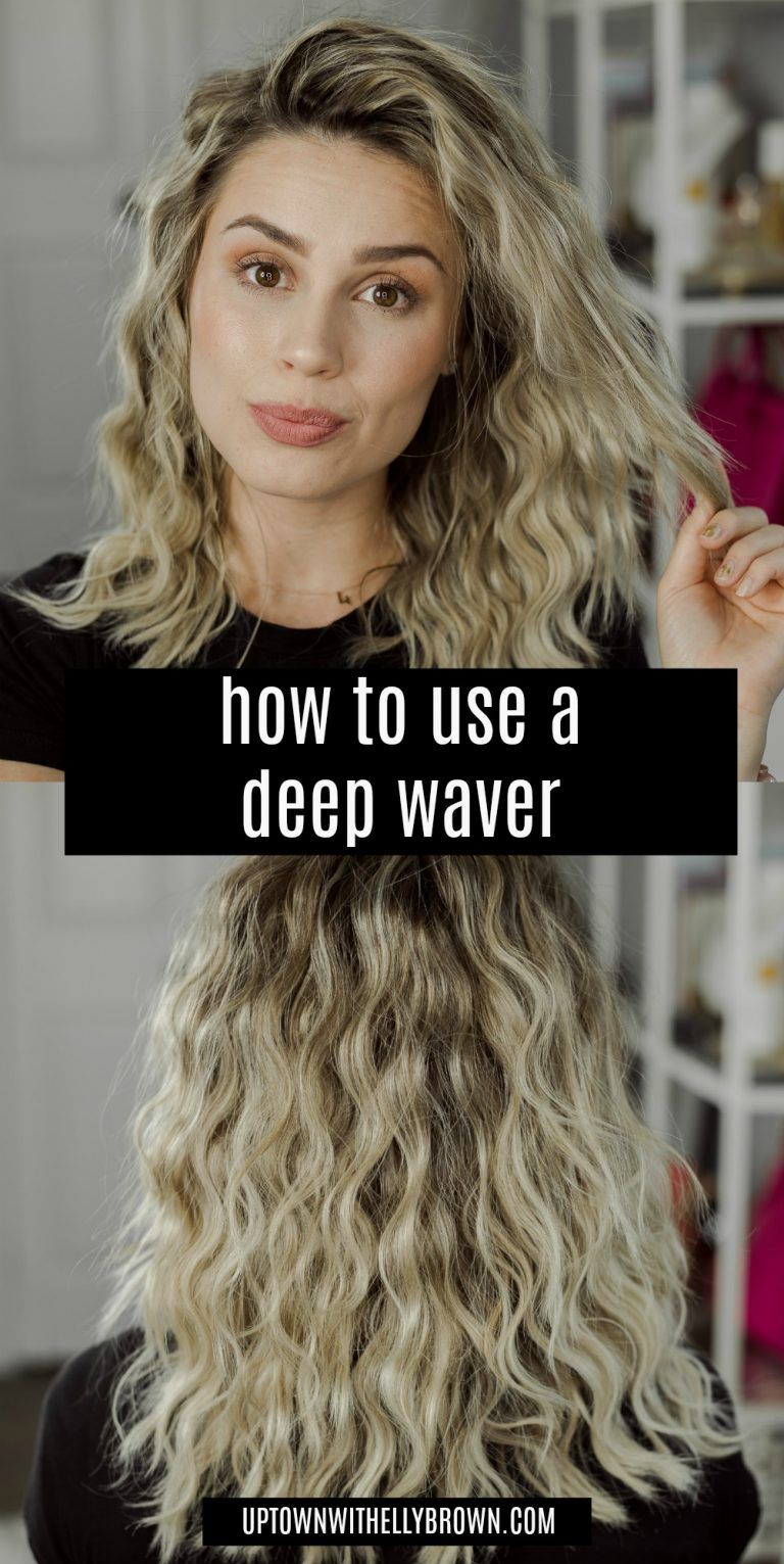 How To Use The Revlon Jumbo 3 Barrel Hair Waver Hair Crimper Hair Waver Triple Barrel Hair