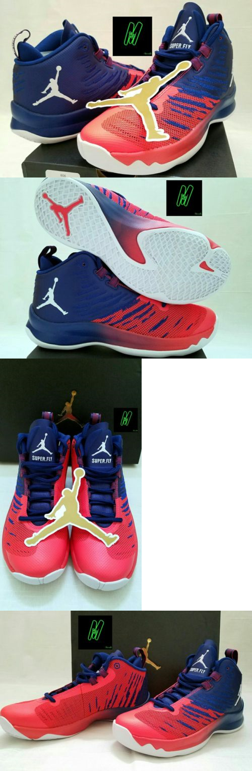 a47ed6b3b19dd8 Youth 158973  Nike Jordan Super Fly 5 Bg Youth Basketball Shoes Infrared  And Blue 4.5