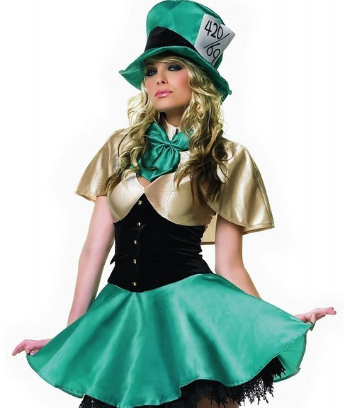 Female Mad Hatter from Alice in Wonderland adult costume. | Disney ...