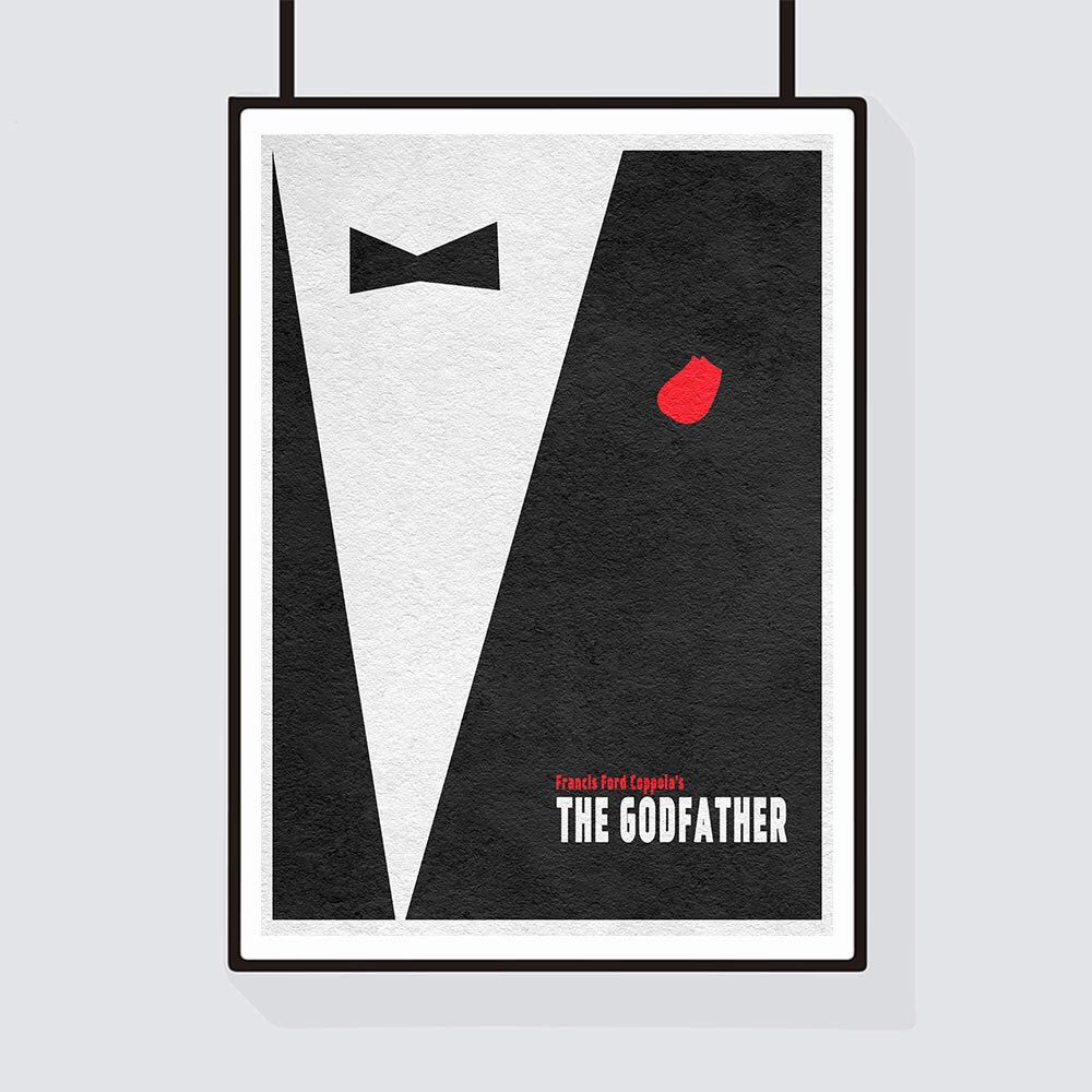 THE GODFATHER Alternative Minimal Movie Poster