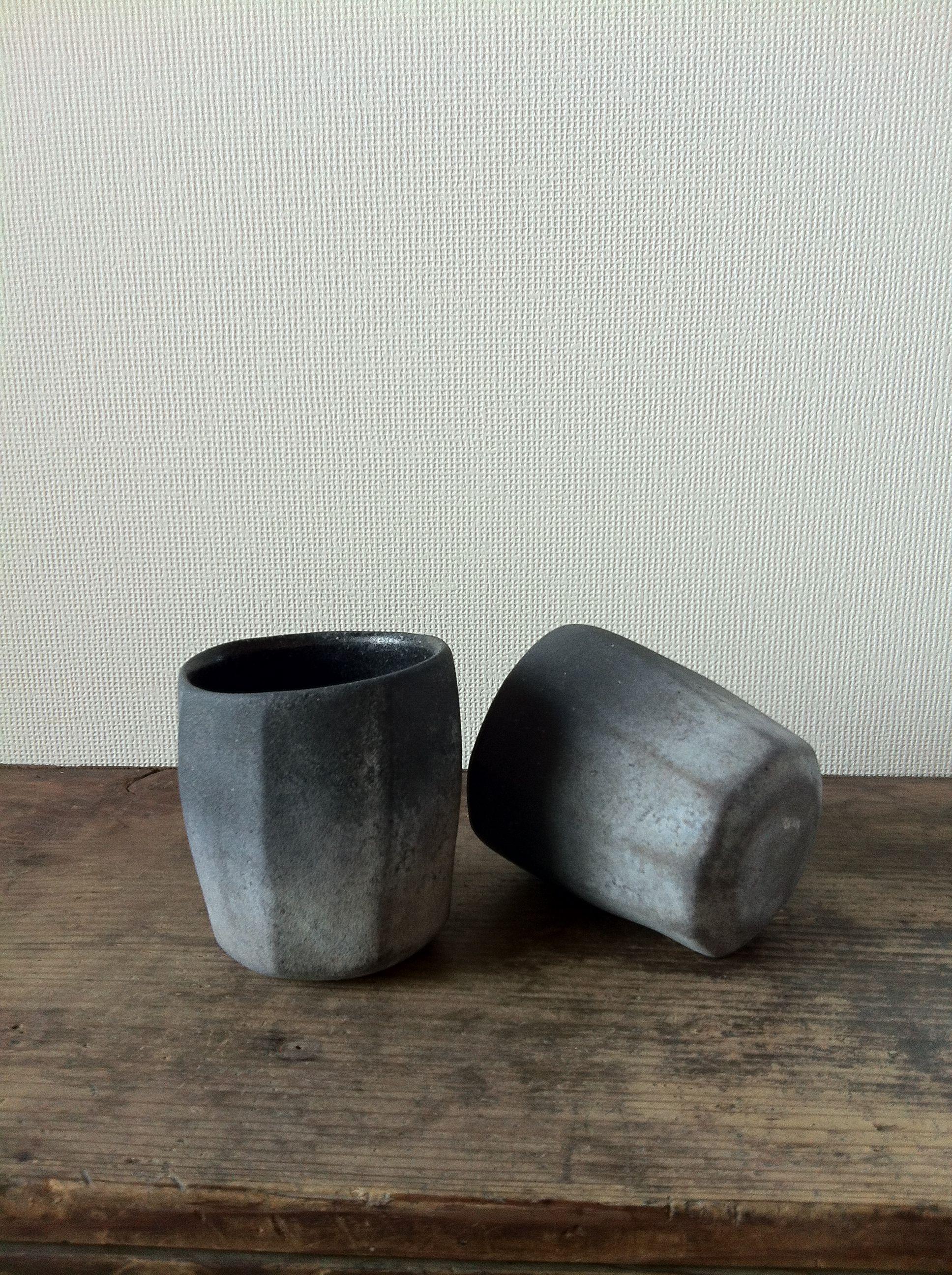 Gomi Kenji.  五味憲二さんのカップです。