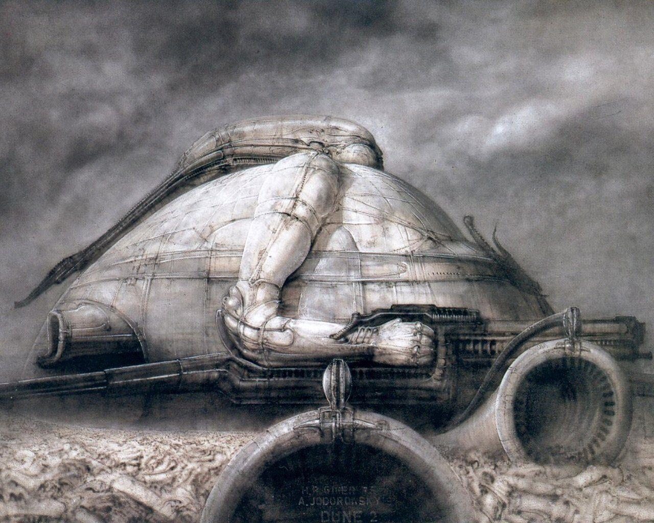 Dune Concept Art Movie Jodorowsky