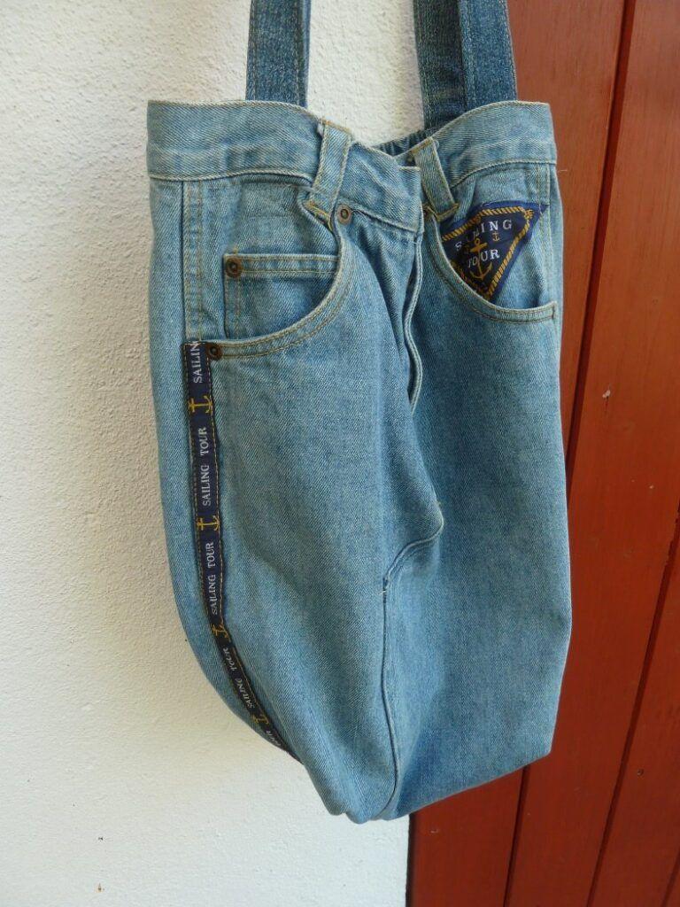 Alte Jeans Alte Socken Neue Tasche Alte Jeans Jeans