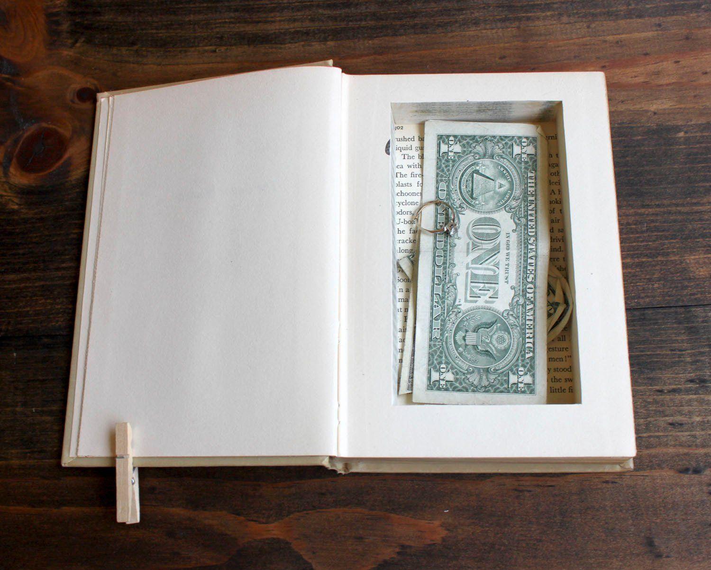 Hidden Piggy Bank Books Crafts And Diy Secret Hiding