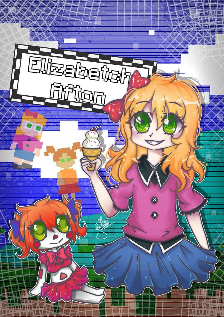 Elizabetch Afton Fnaf Afton Family 2 5 By Isia7 Fnaf Wallpapers Afton Fnaf