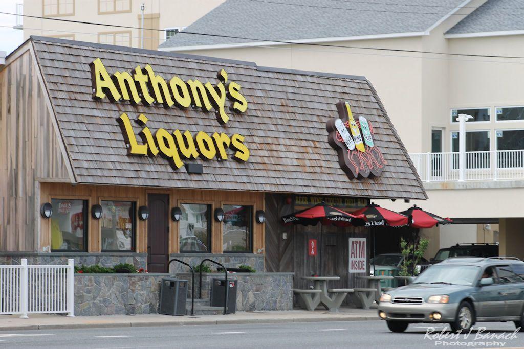 Anthonys liquors beer wine deli ocean city md ocean