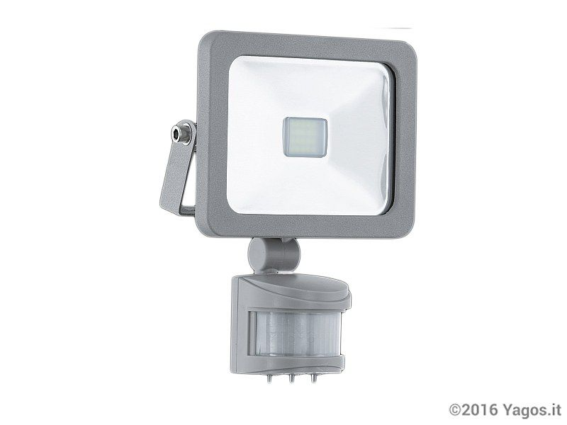 Plafoniera Per Esterno Con Rilevatore Di Presenza : Proiettore led w con sensore di movimento faedo