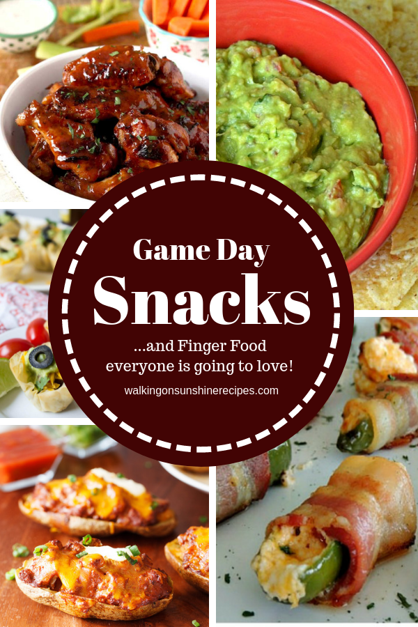 Big Game Snack Recipes Snack recipes, Easy appetizer