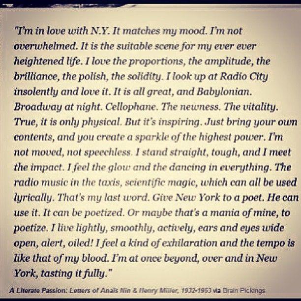 I Love This Poem I Do Love Ny New York Quotes City Quotes