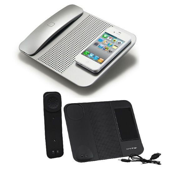 Image of Hype Cordless Bluetooth Handset Speaker With Mic Works with all iPhone Models