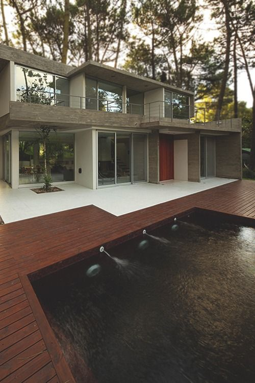 Great pool deck.
