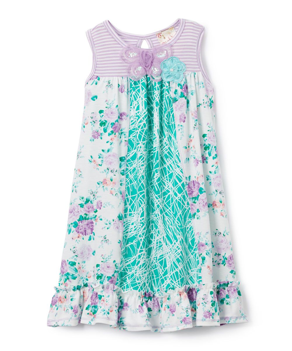 Floral Baby Doll Dress for Teens