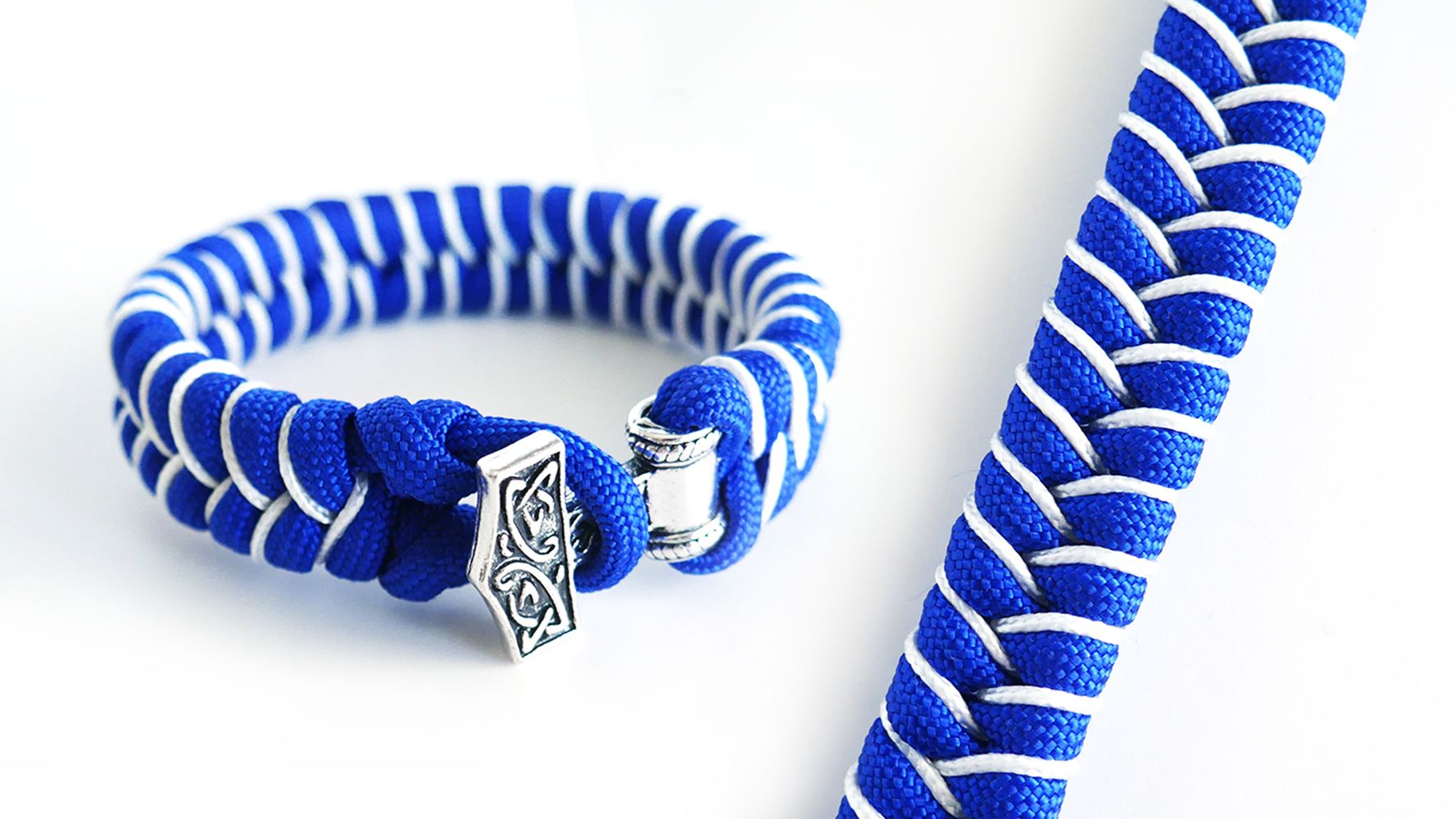 How To Make A Stitched Fishtail Paracord Bracelet Mjolnir Thor S