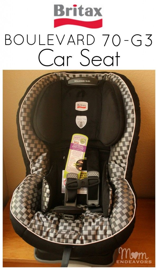 Safety You Can See – The BRITAX BOULEVARD 70-G3 Car Seat {Giveaway ...
