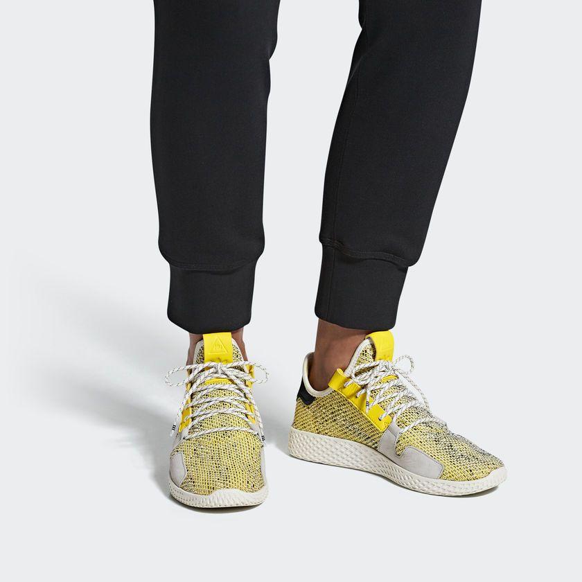 689dffeed adidas Men s Pharrell Williams SOLARHU Tennis V2 Shoes - Grey ...