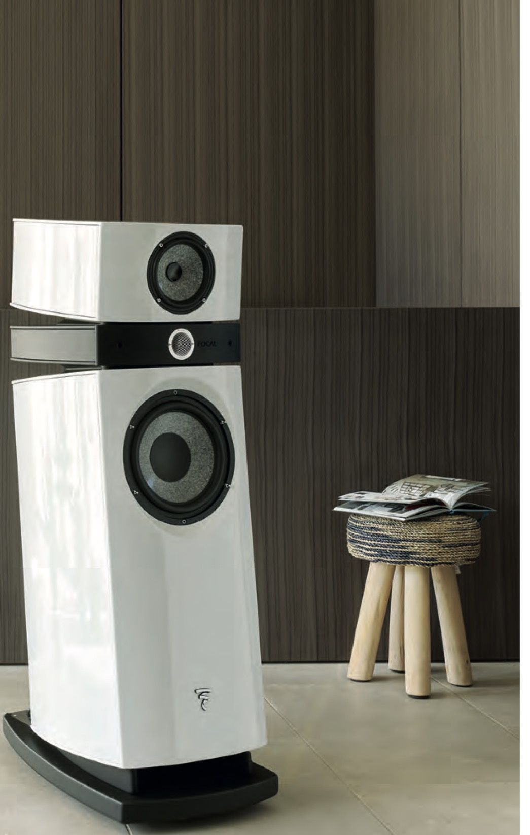 Focal Utopia 3 Scala Evo in Carrara White  It has the new