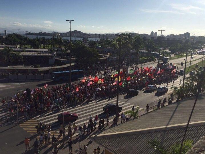 manifestações sc; florianópolis