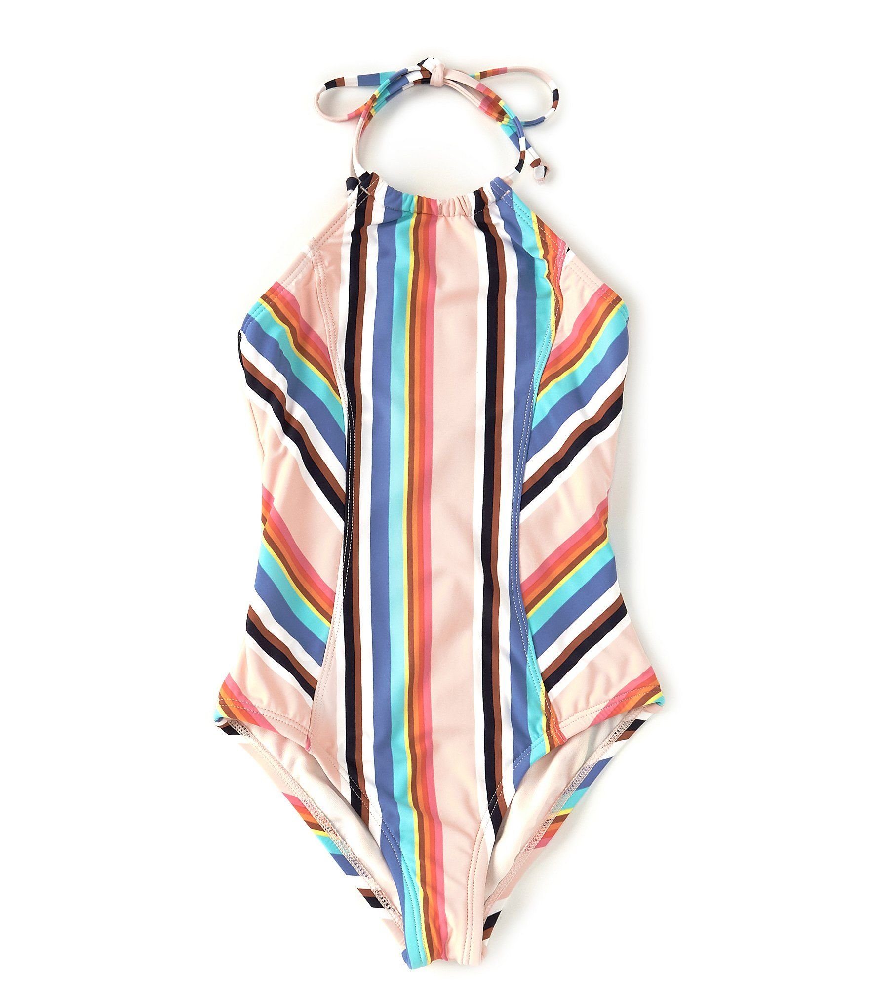 Hobie Big Girls 7-16 Striped One-Piece Swimsuit | Dillard's 3