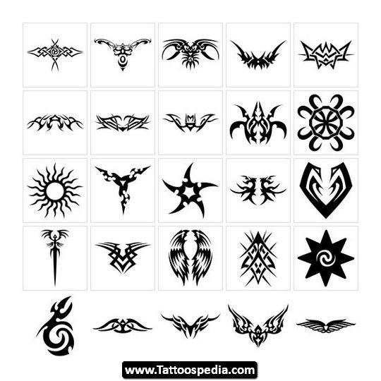 small tribal tattoos 15 - Small Designs