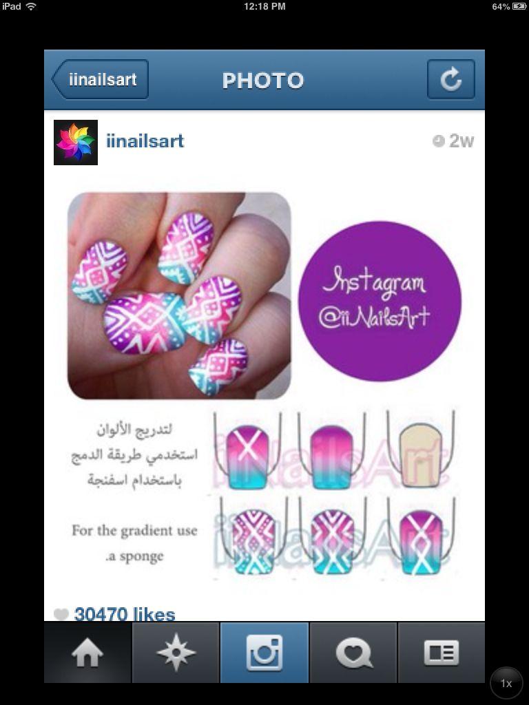Pin by constanza diaz on uñas pinterest nail stuff