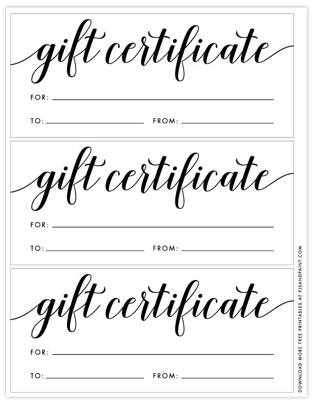Free Printable Gift Certificate Template Free Gift Certificate Template Gift Card Template Christmas Gift Certificate